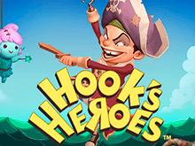 Слот Герои Крюка в онлайн-казино Чемпион
